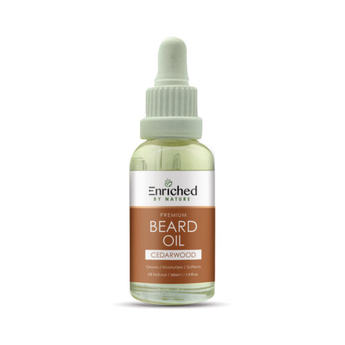 Enriched By Nature Cedarwood Beard Oils