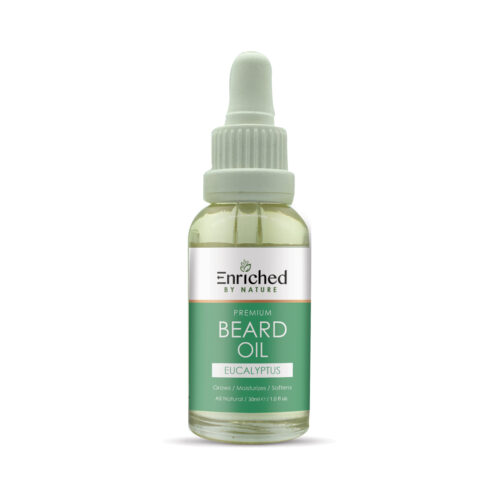 Enriched By Nature Eucalyptus Beard Oils