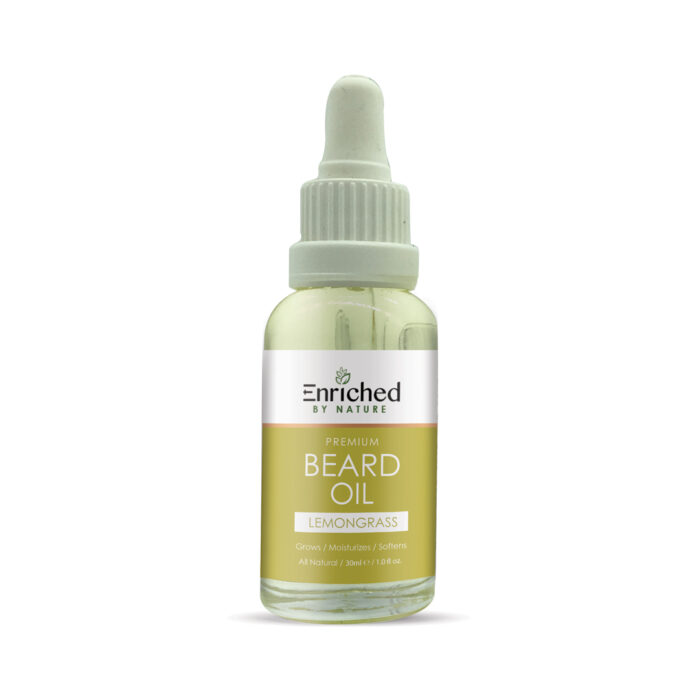 Enriched By Nature Lemongrass Beard Oil
