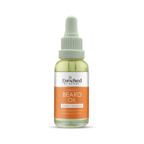 Enriched By Nature Sweet Orange Beard Oil