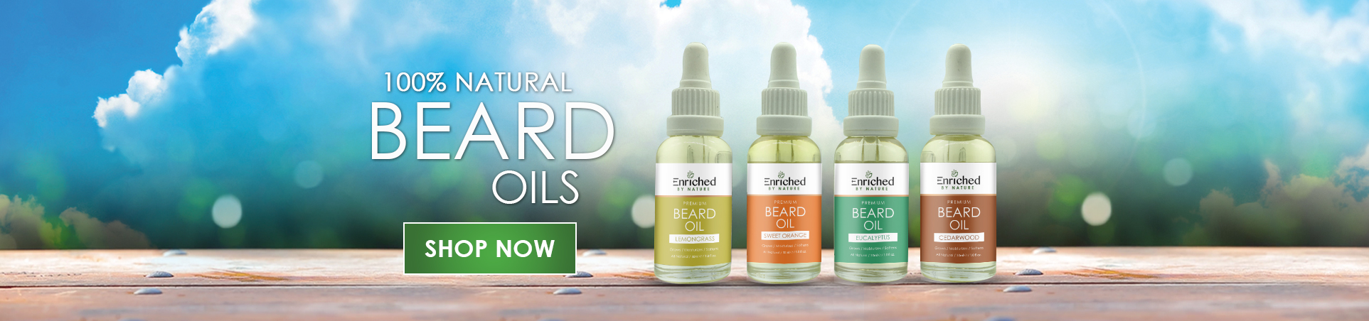 Enriched By Nature Beard Oil